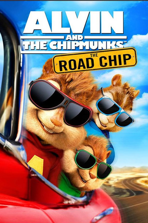 Alvin and the Chipmunks: The Road Chip - Poster
