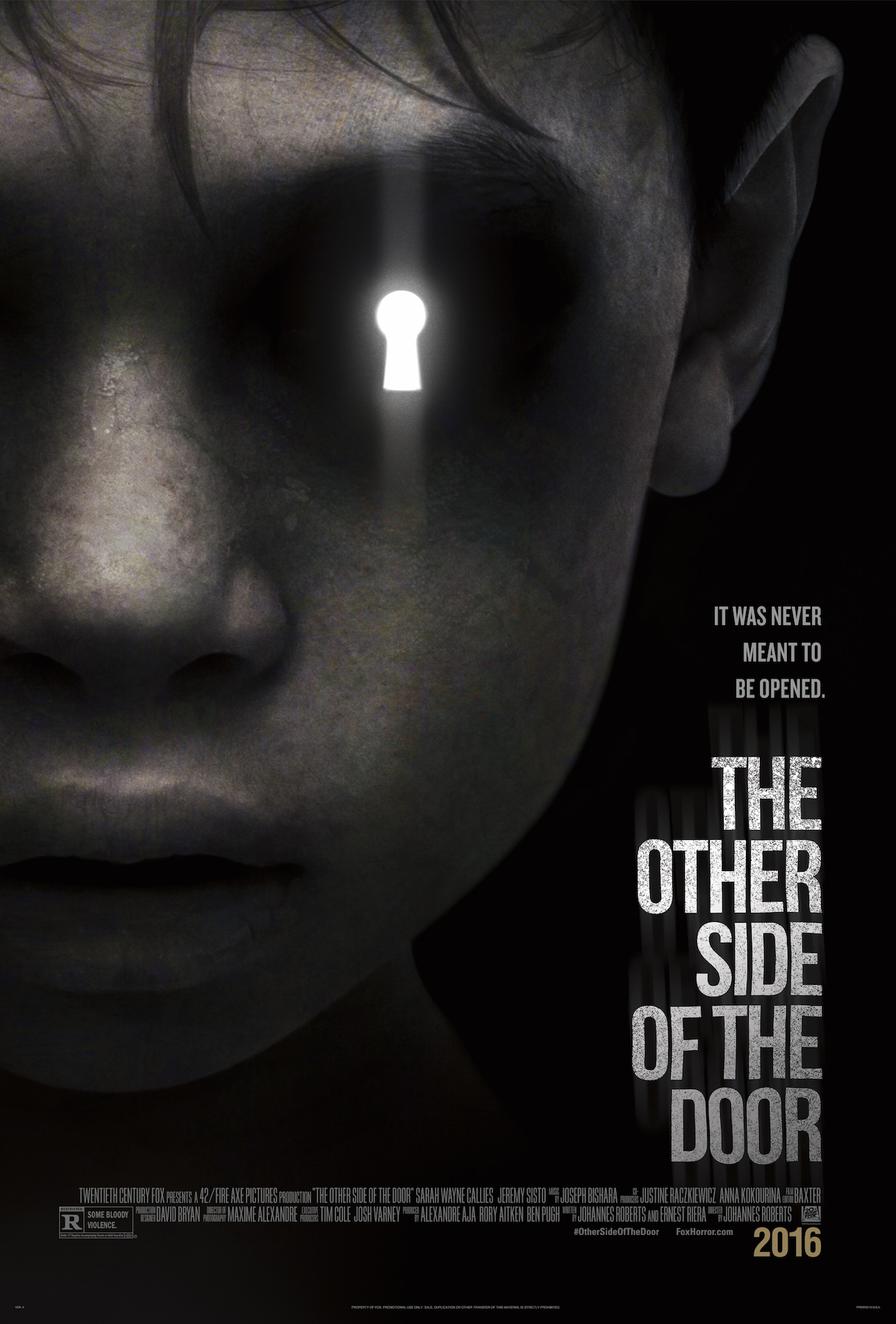 The Other Side of the Door - Poster
