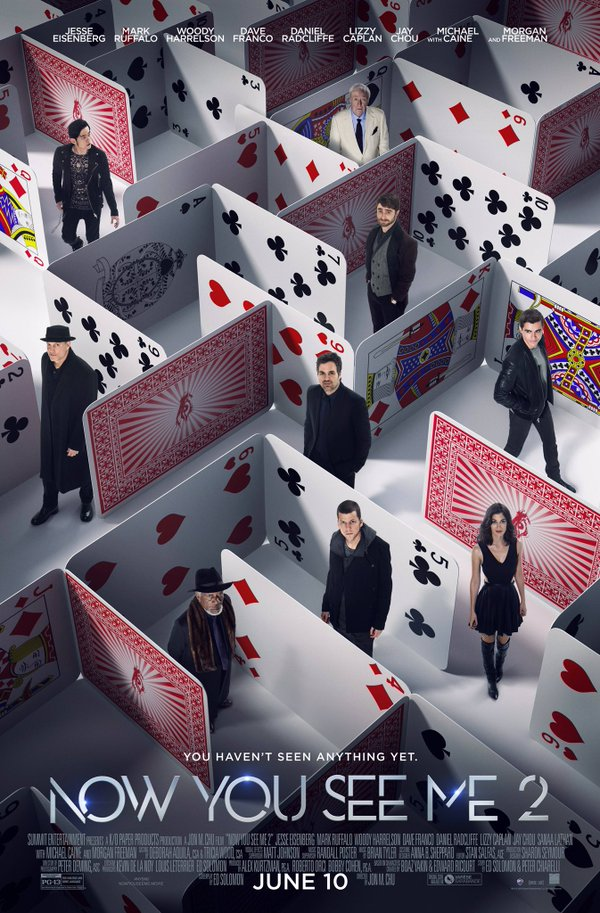 Now You See Me 2 - Poster