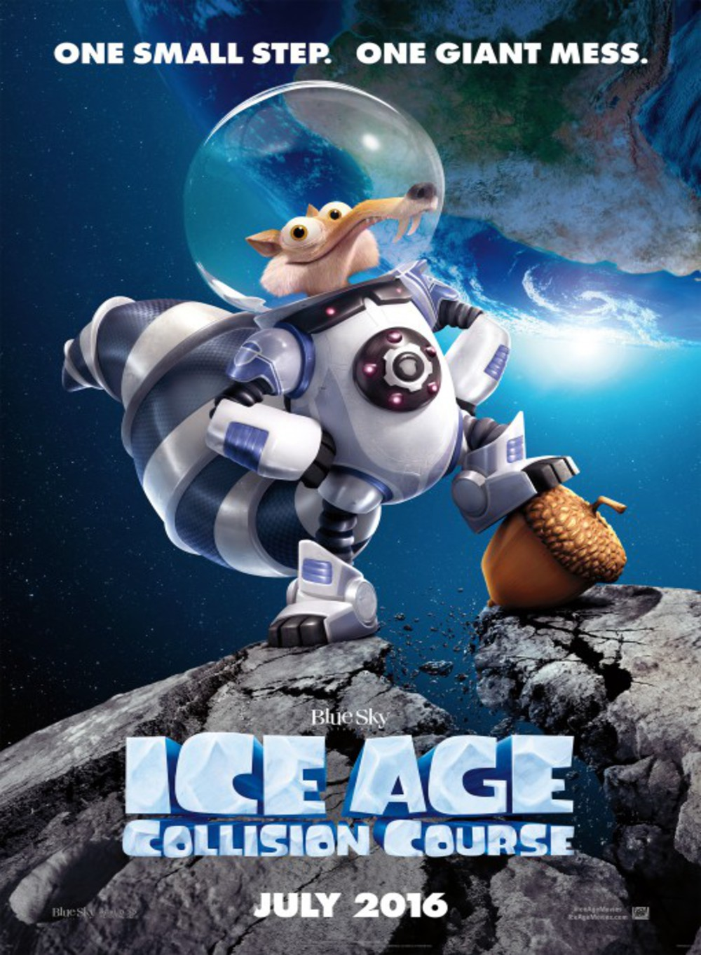 Ice Age: Collision Course - Poster