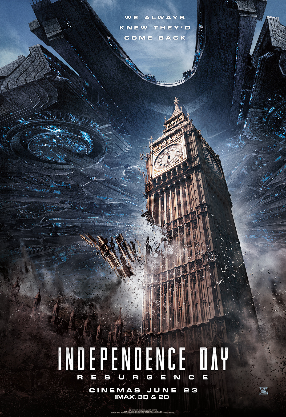 Independence Day: Resurgence - Poster