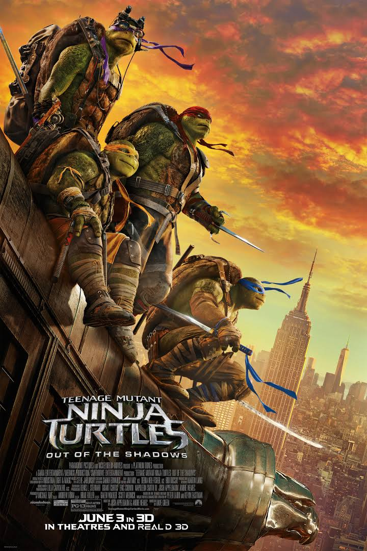 TMNT: Out of the Shadows - Poster