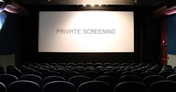 Evening Private Screening Package