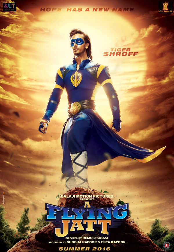 A Flying Jatt - Poster
