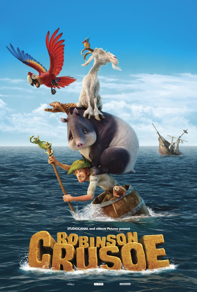 The Wild Life: Robinson Crusoe - Poster