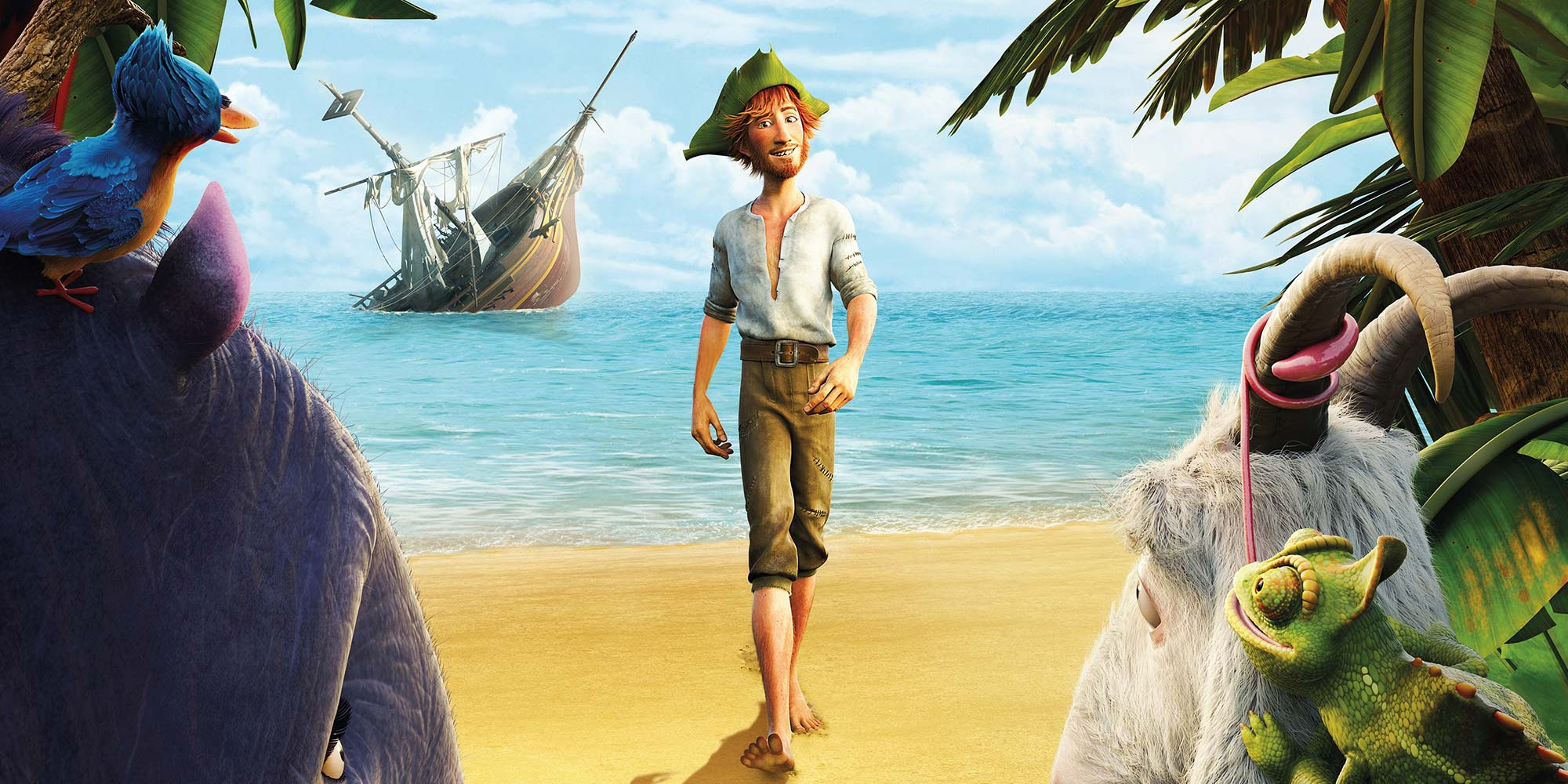 The Wild Life: Robinson Crusoe - Header Image