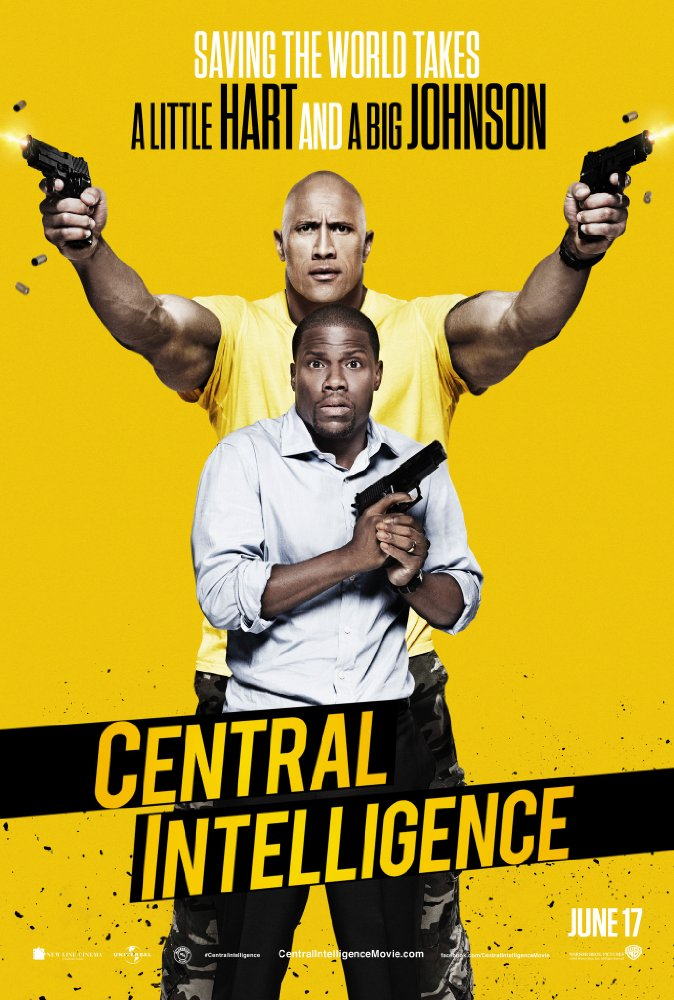 Central Intelligence - Poster