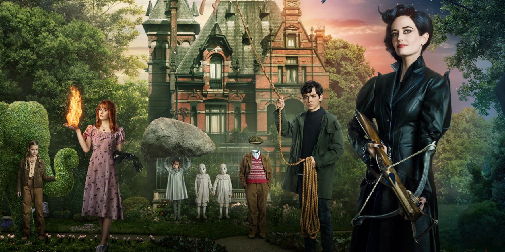 Miss Peregrine's Home for Peculiar Children - Header Image