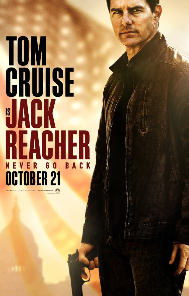Jack Reacher: Never Go Back - Poster