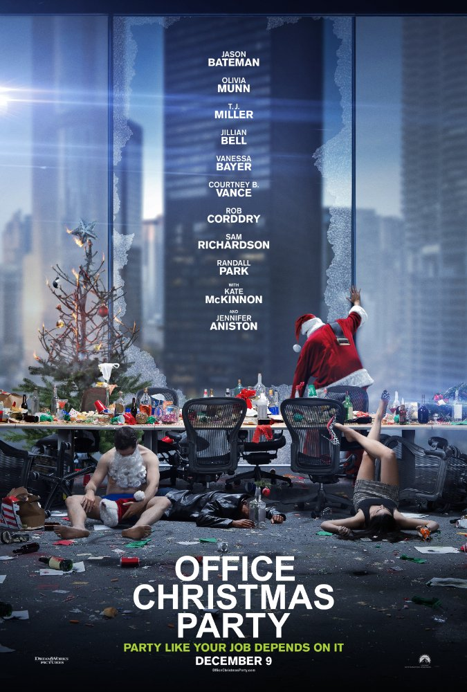 Office Christmas Party - Poster
