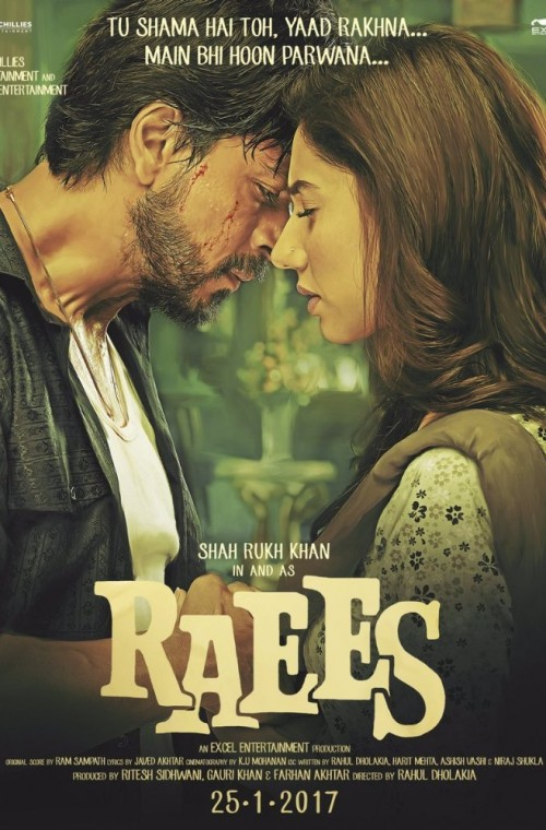 Raees - Poster