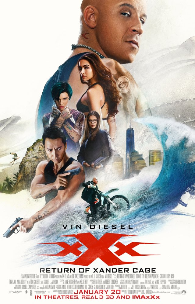 xXx: Return of Xander Cage - Poster