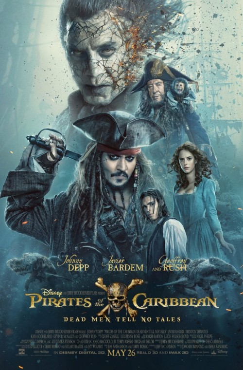 Pirates of the Caribbean 5 (3D) - Poster