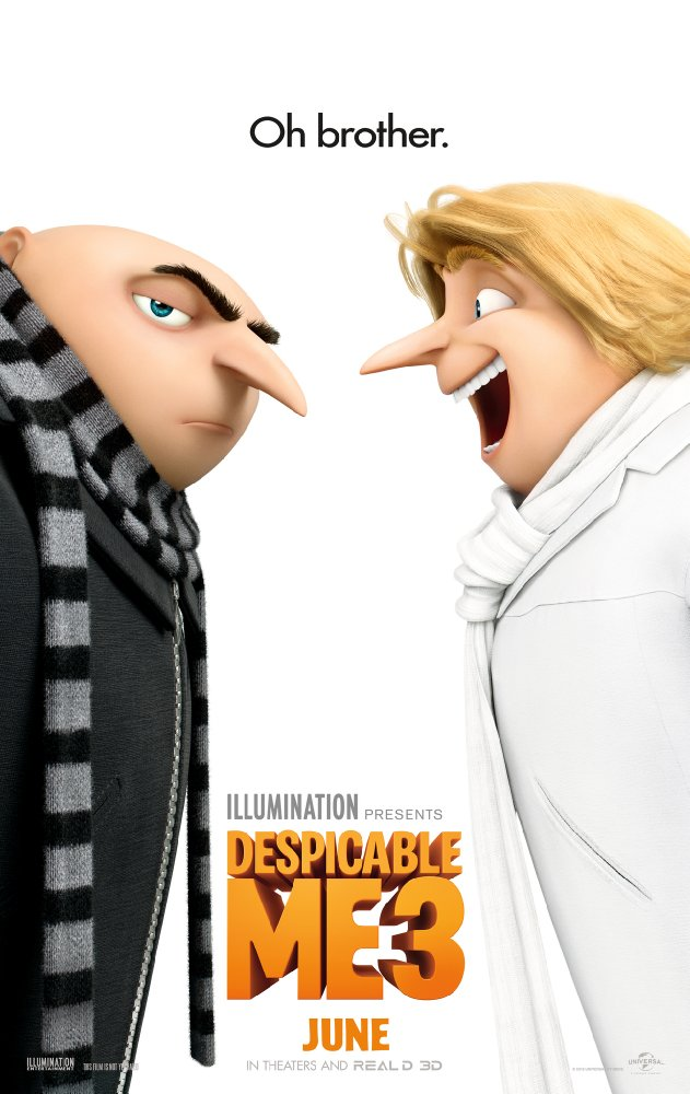 Despicable Me 3 - Poster