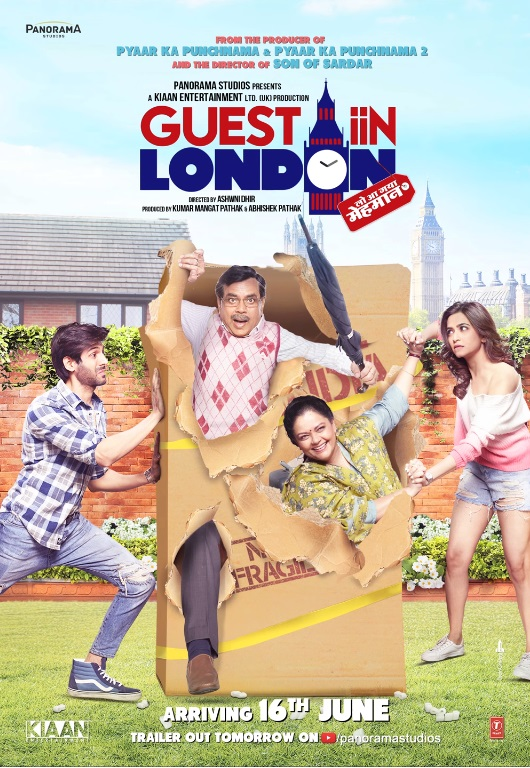 Guest iin London - Poster