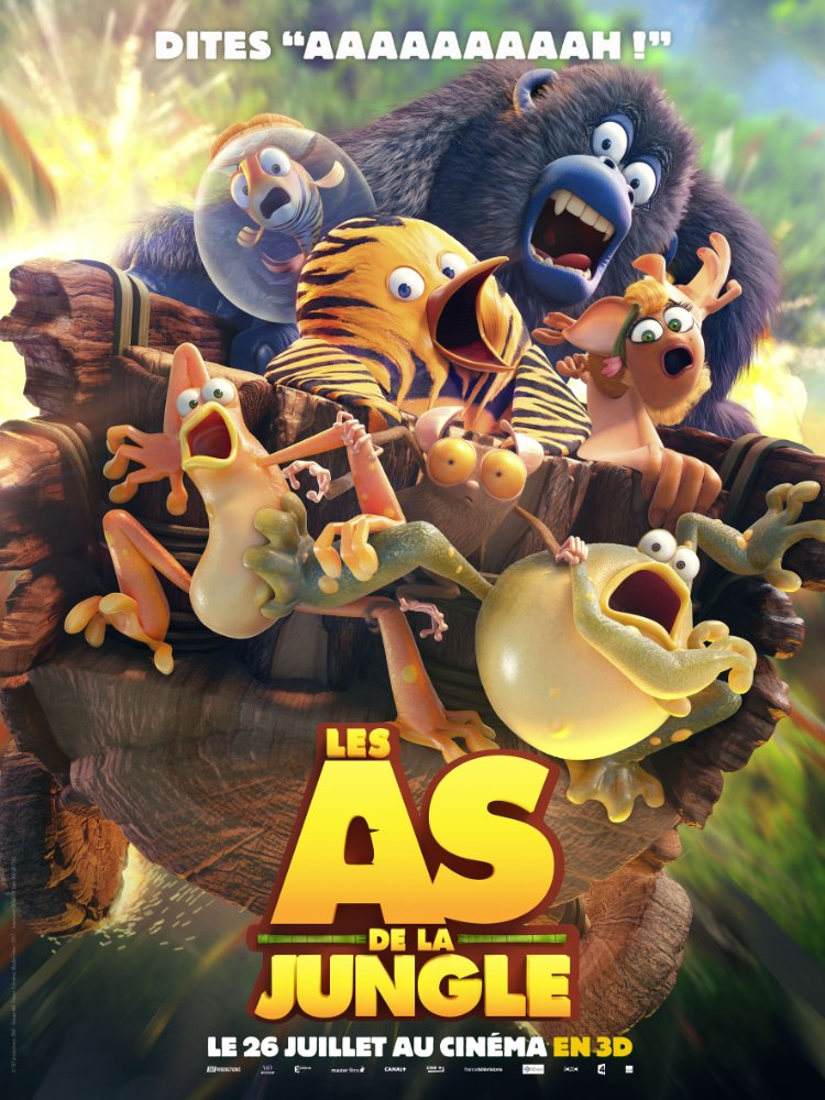 Les As de la Jungle (3D) - Poster
