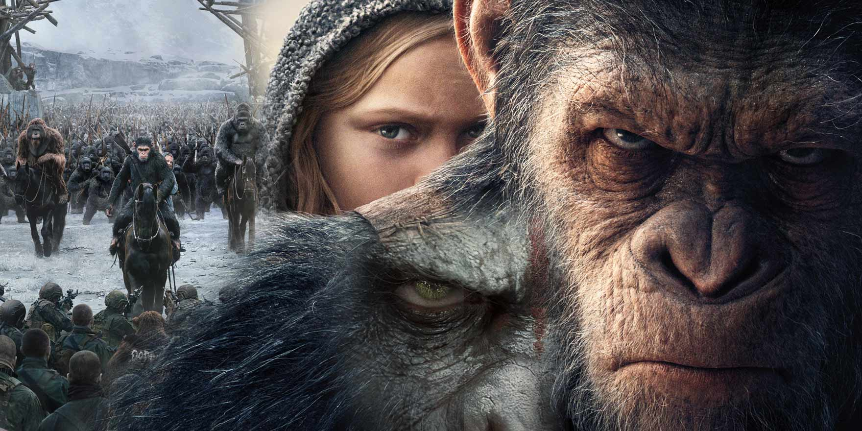 War for the Planet of the Apes - Header Image