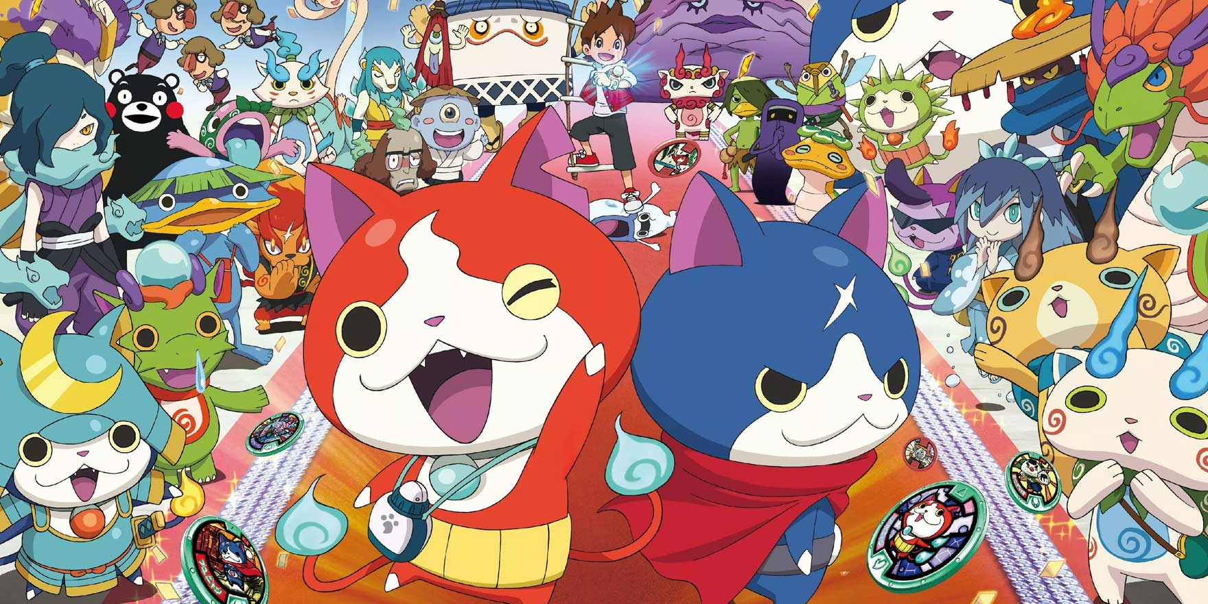 Yo-Kai Watch - Header Image