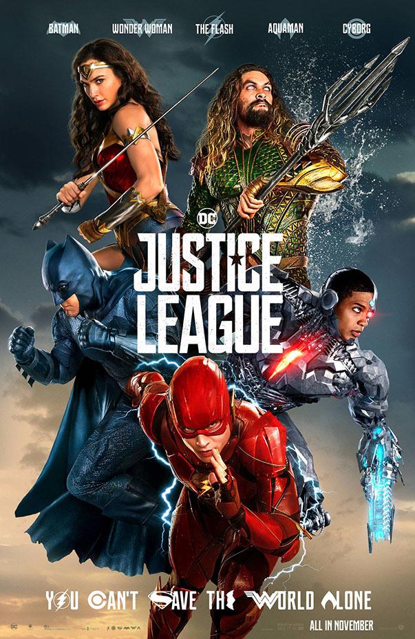 showtimes justice league
