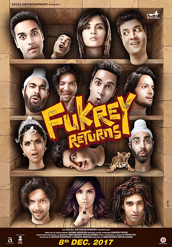 Fukrey Returns - Poster