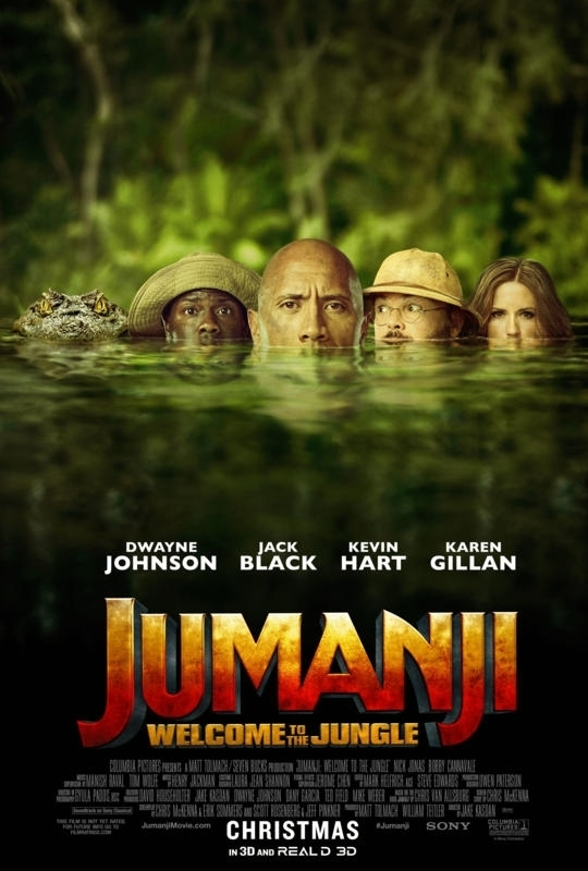 Jumanji: Welcome to the Jungle - Poster