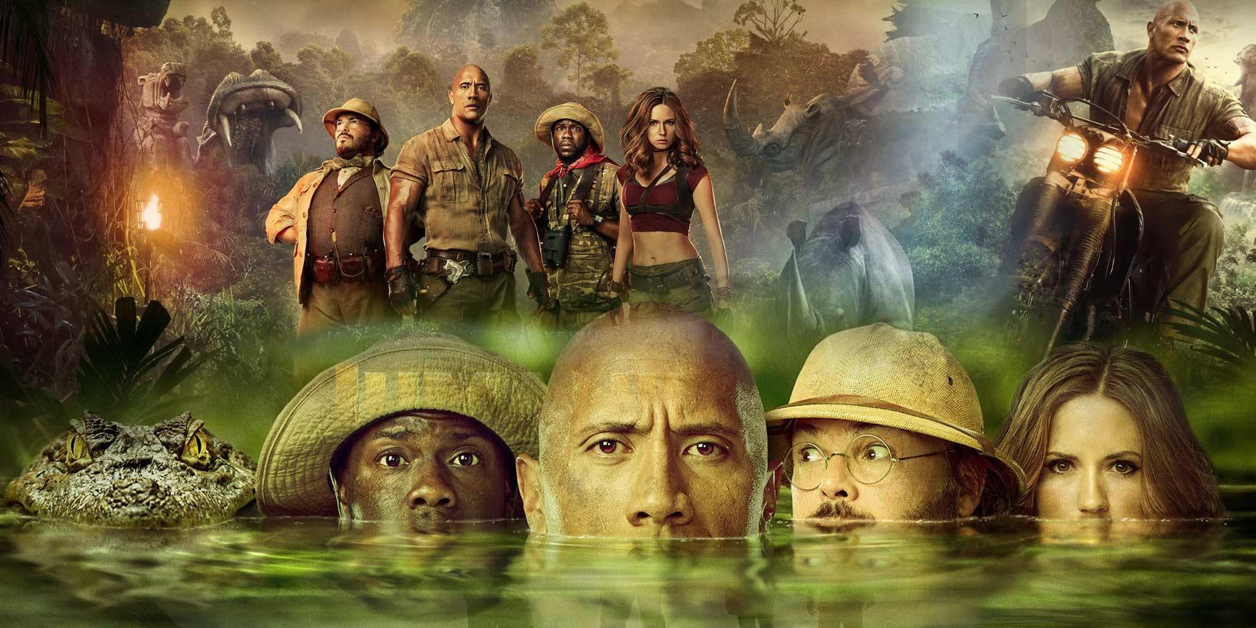 Jumanji : Bienvenue dans la jungle - Header Image