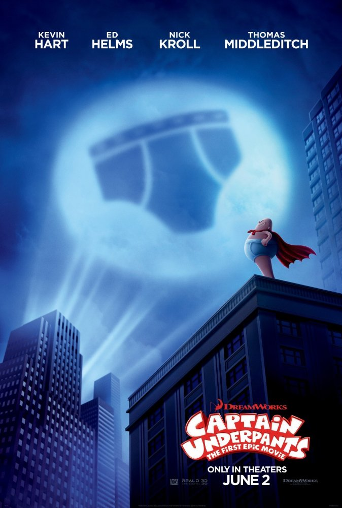 Captain Underpants - Poster