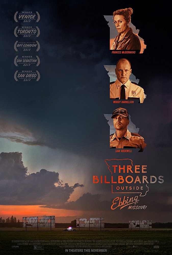 Three Billboards Outside Ebbing - Poster