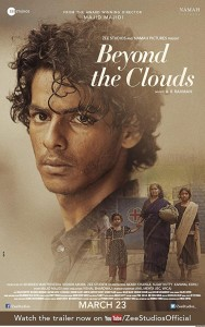 beyonds the clouds poster