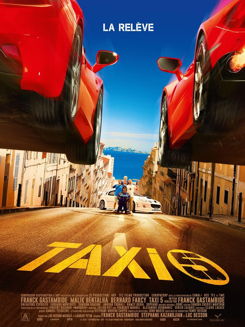 Taxi 5 - Poster