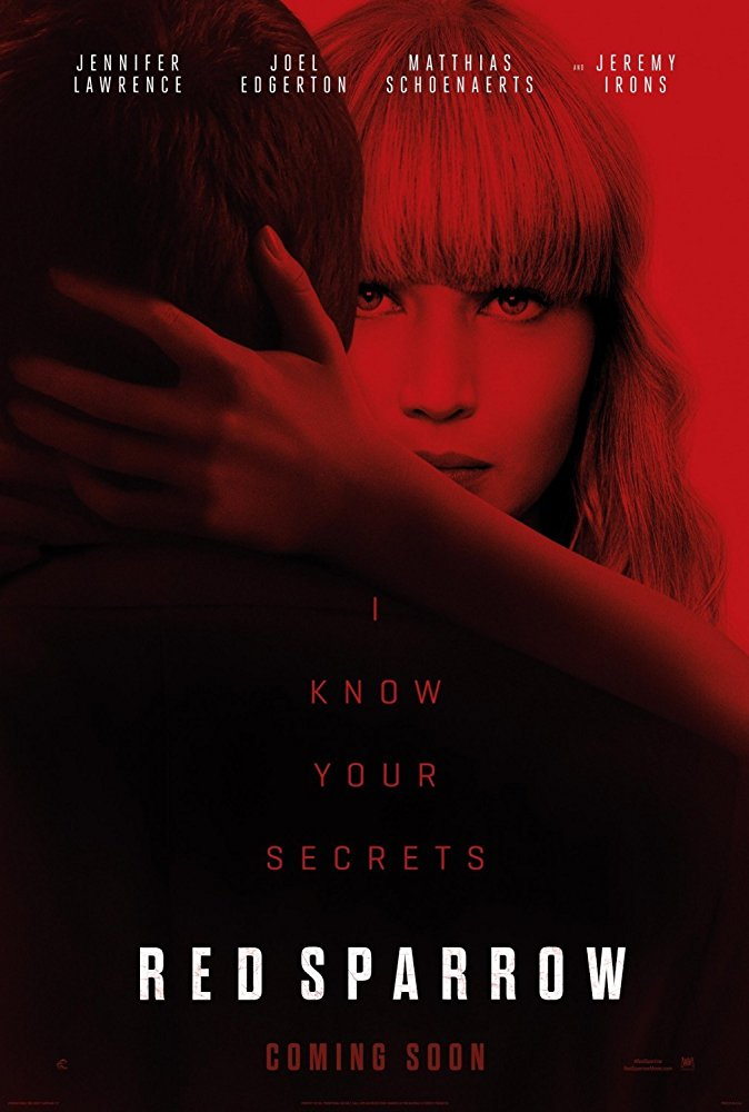 Red Sparrow - Poster
