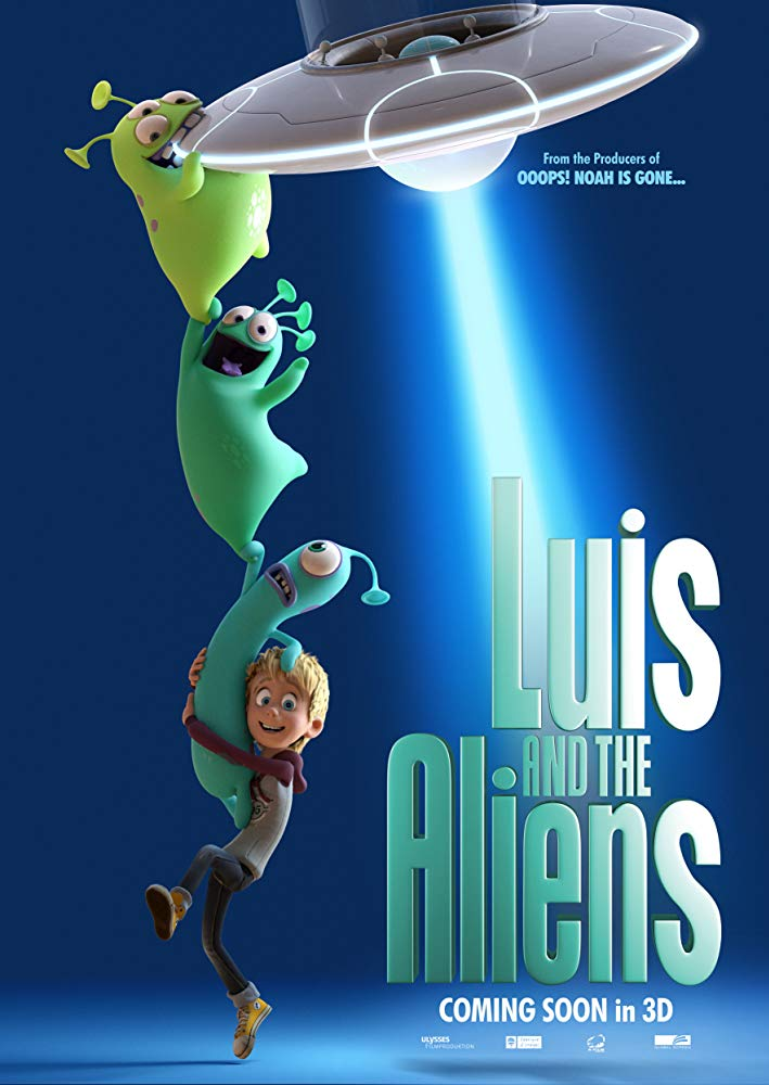 Luis and His Friends from Outer Space - Poster