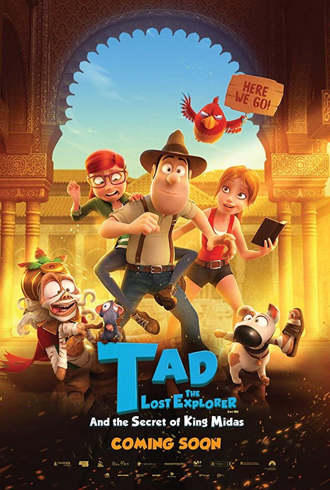 Tad the Lost Explorer and the Secret of King Midas - Poster