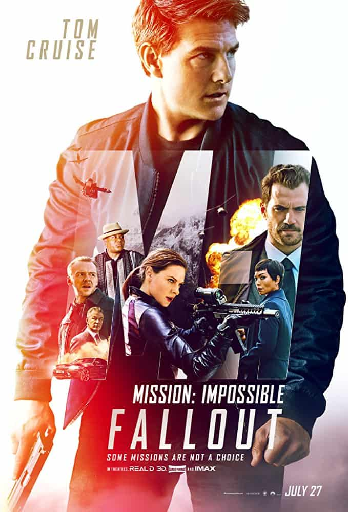 Mission: Impossible – Fallout - Poster