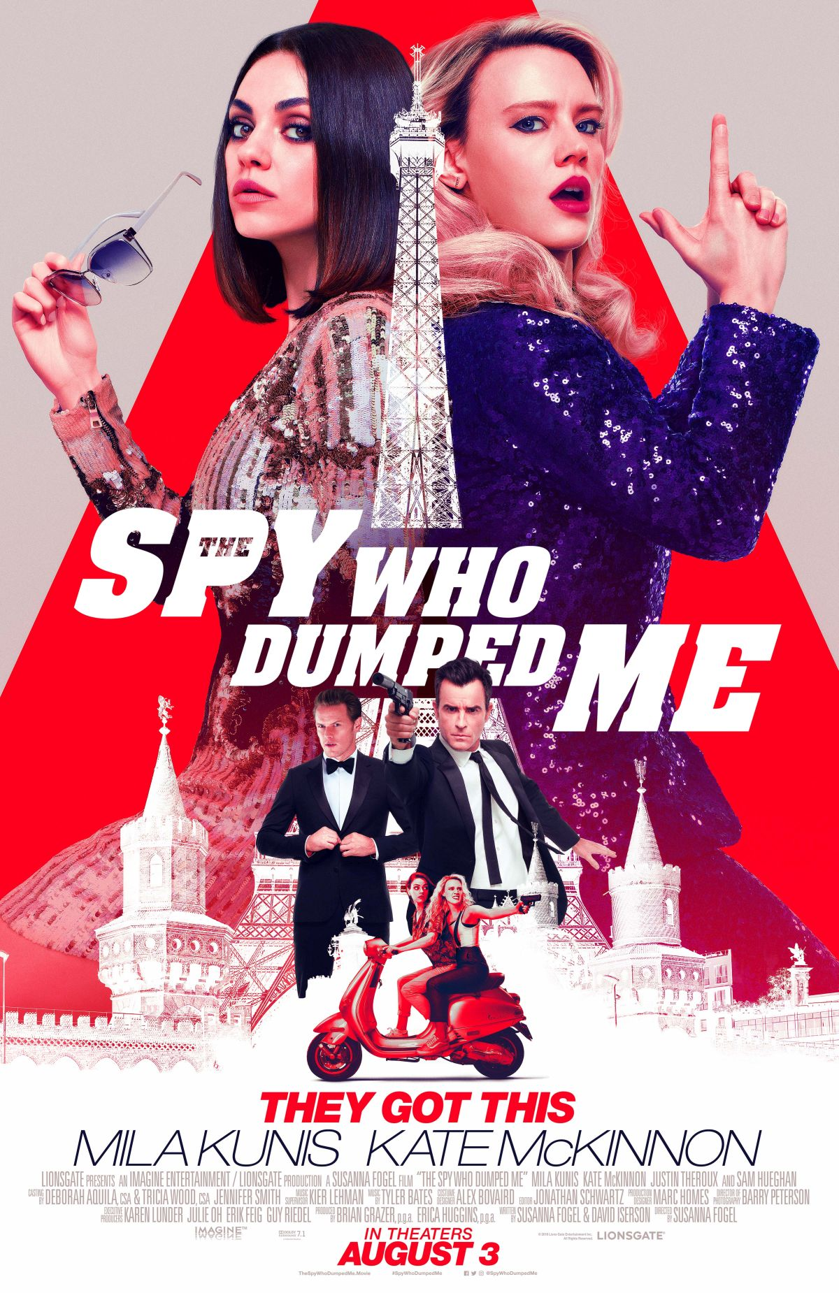 The Spy Who Dumped Me - Poster