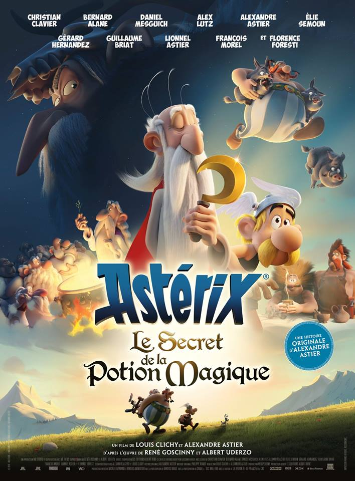 Asterix: The Secret of the Magic Potion - Poster
