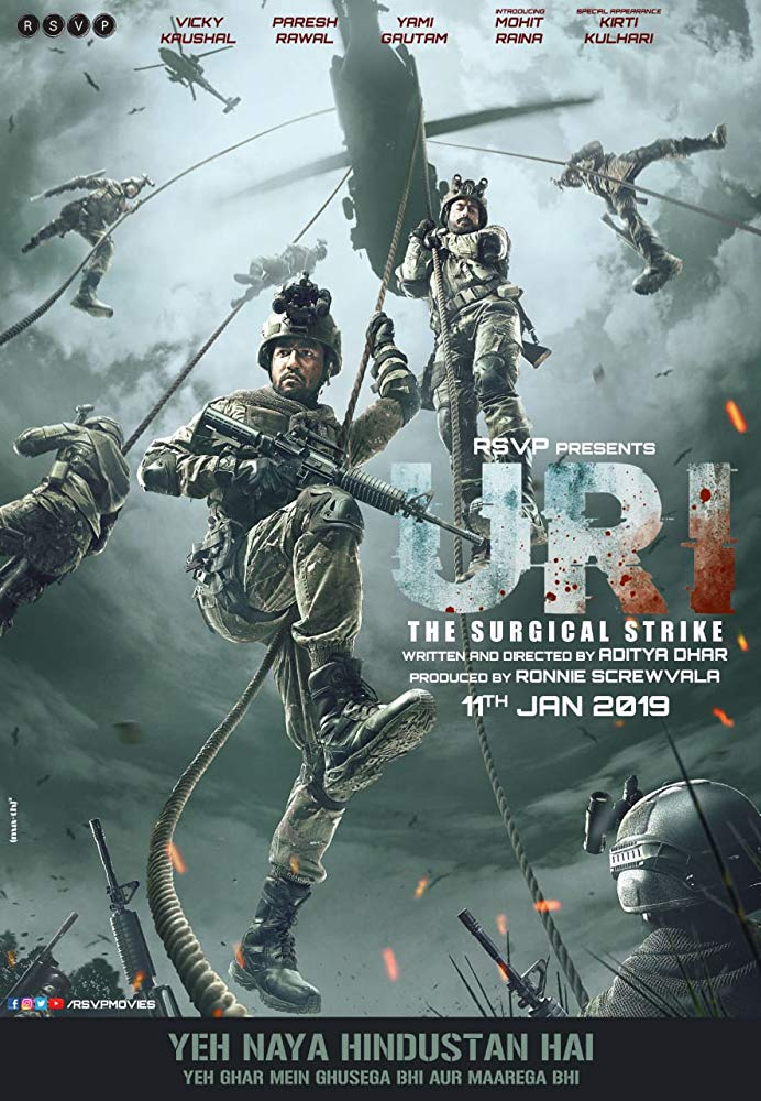Uri: The Surgical Strike - Poster