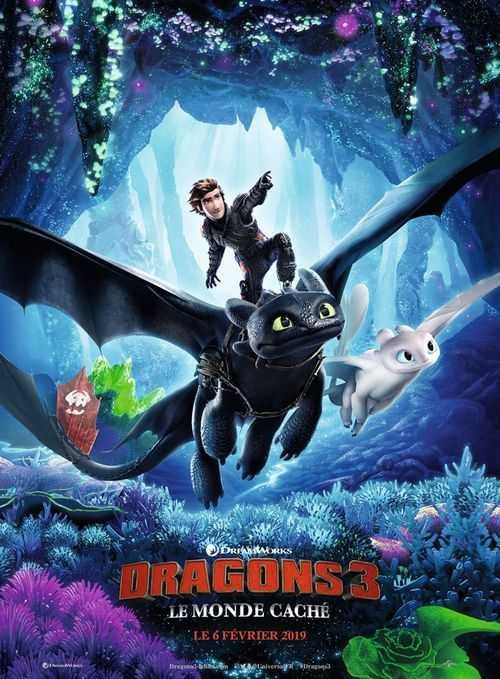 How to Train Your Dragon 3 - Poster