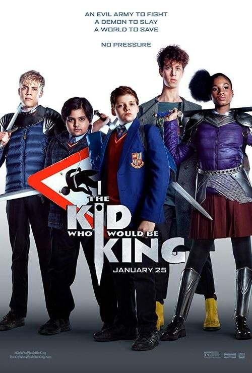 The Kid Who Would Be King - Poster