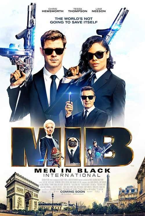 Men in Black: International - Poster