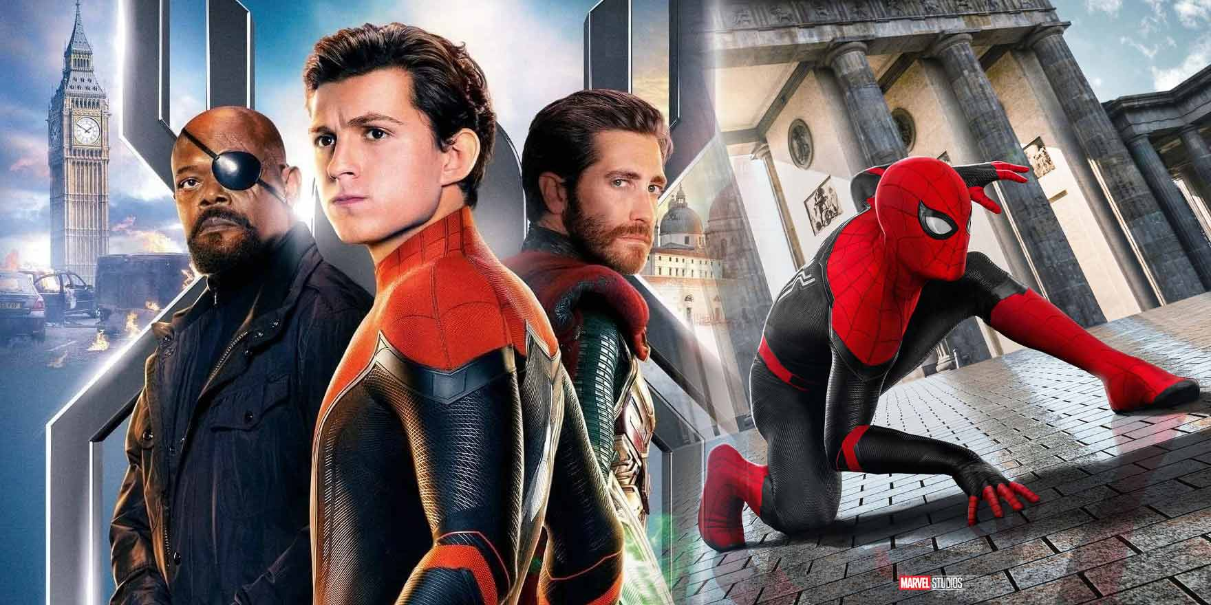 Spider-Man: Far from Home - Header Image