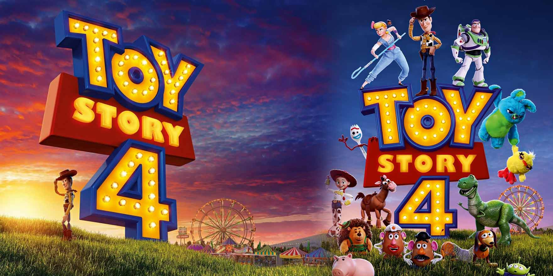 Toy Story 4 - Header Image