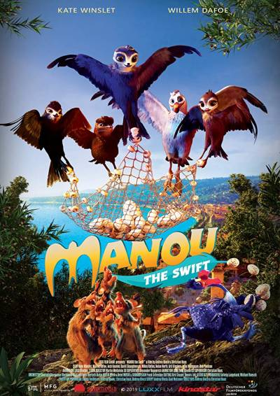 Manou the Swift - Poster