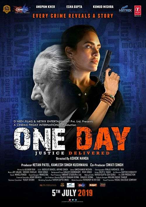 One Day: Justice Delivered - Poster