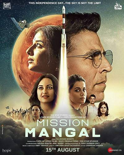Mission Mangal - Poster