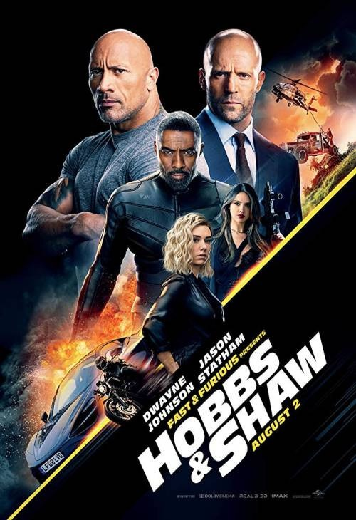 Fast & Furious Presents: Hobbs & Shaw - Poster