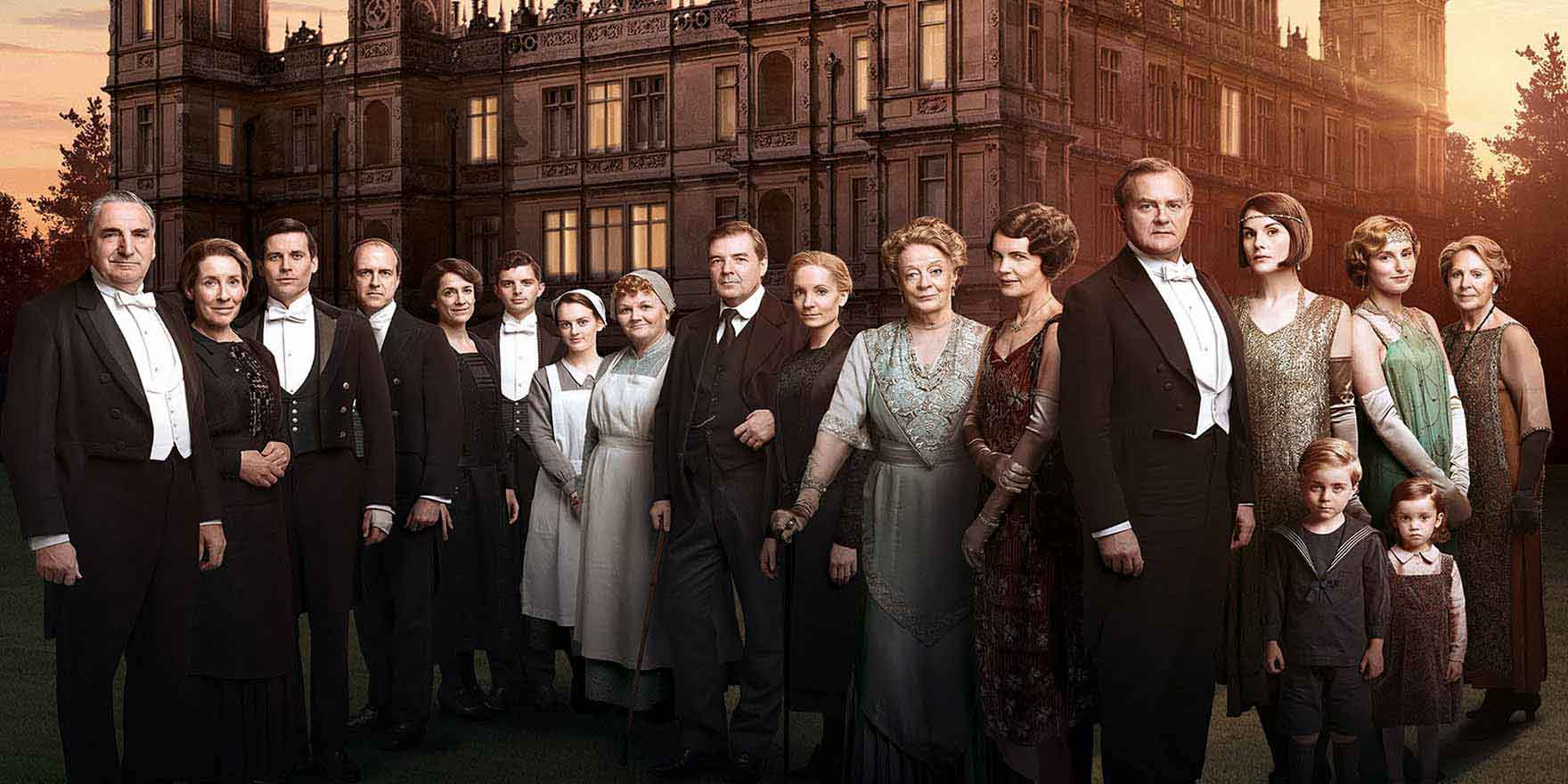 Downton Abbey - Header Image