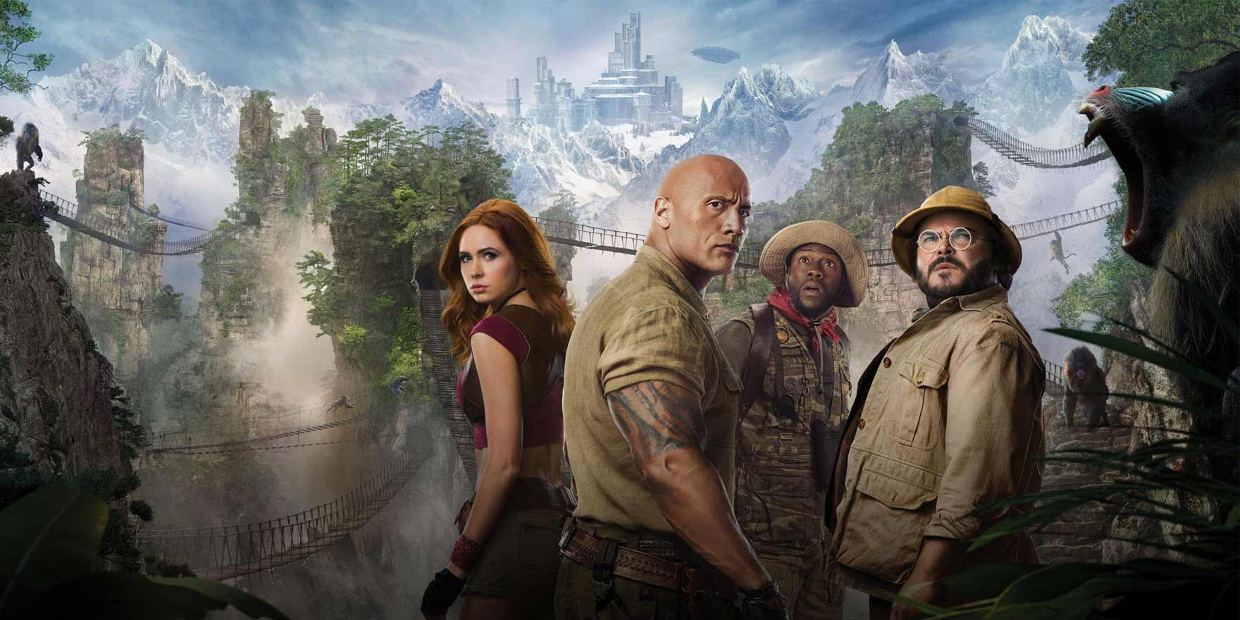 Jumanji: The Next Level - Header Image