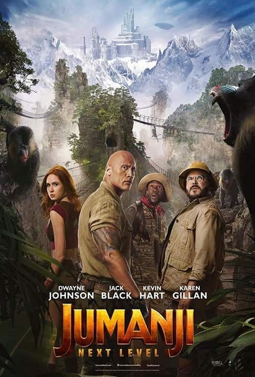 Jumanji: The Next Level - Poster