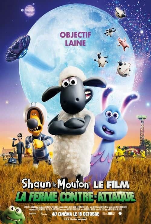 A Shaun the Sheep Movie: Farmageddon - Poster